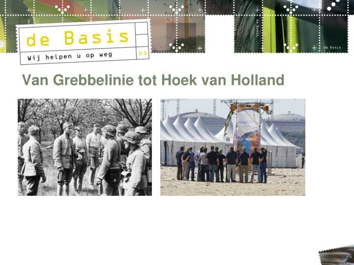 Van Grebbelinie tot Hoek van Holland