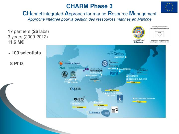 CHARM Phase 3