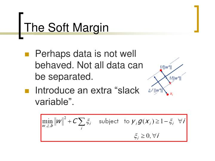 The Soft Margin