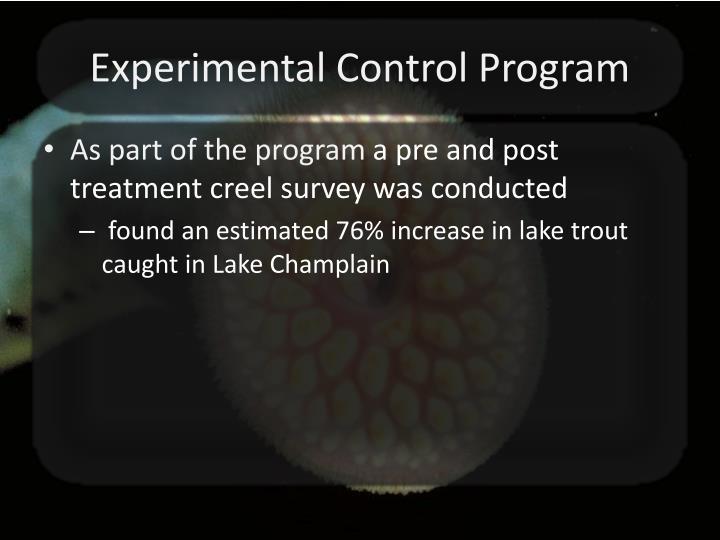 Experimental Control Program