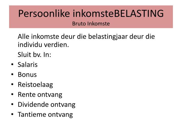 Persoonlike