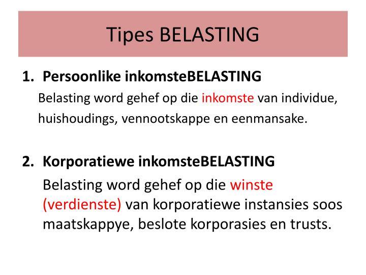 Tipes