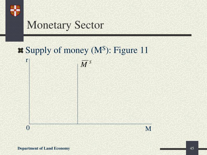 Monetary Sector