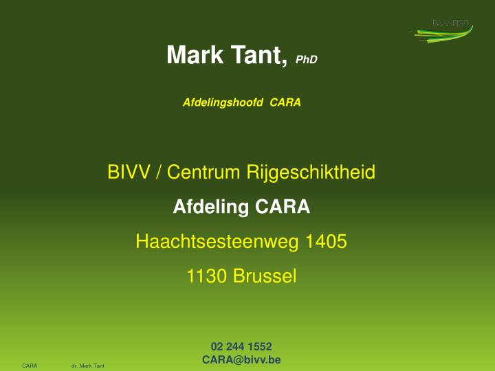 Mark Tant,