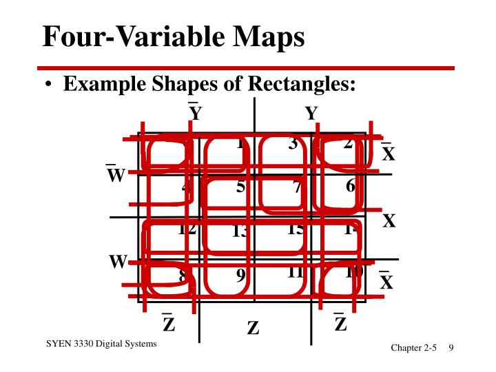 Four-Variable Maps