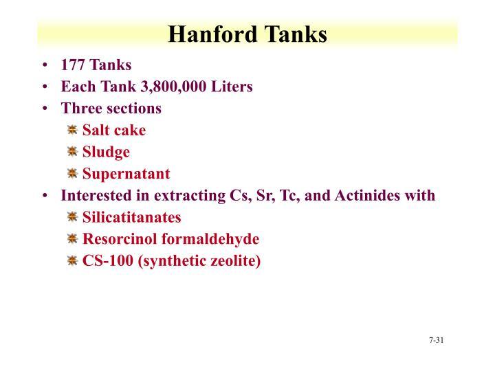 Hanford Tanks