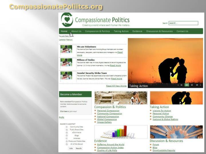 CompassionatePoliitcs.org