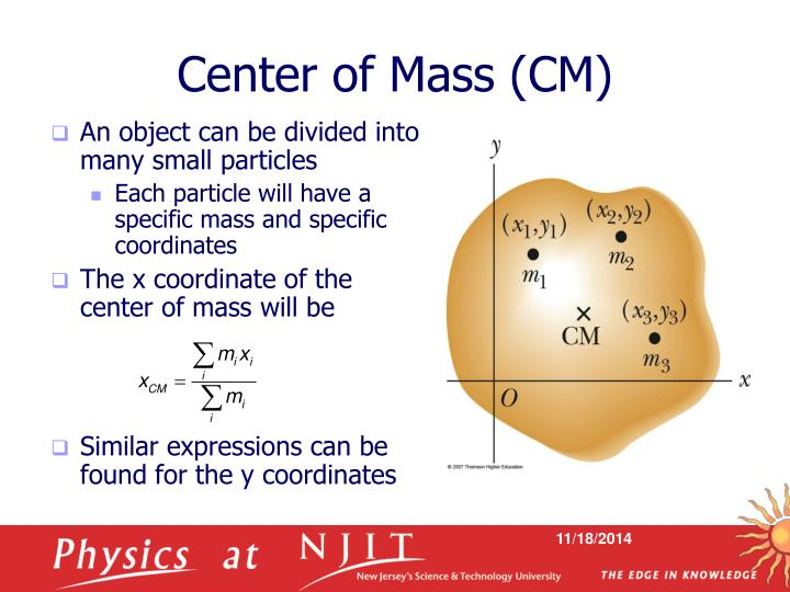 Center of Mass (CM)