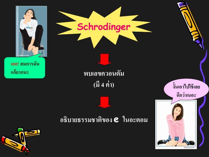 Schrodinger
