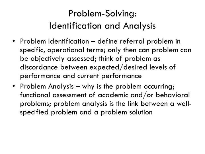 Problem-Solving:
