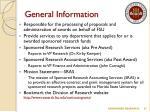 general information13