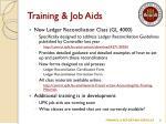 training job aids