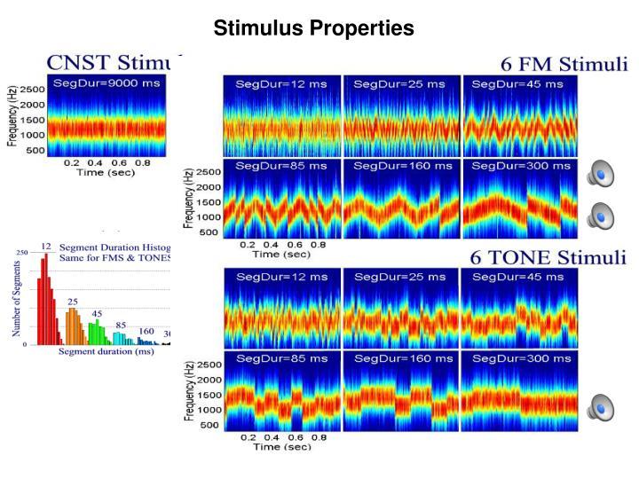 Stimulus Properties