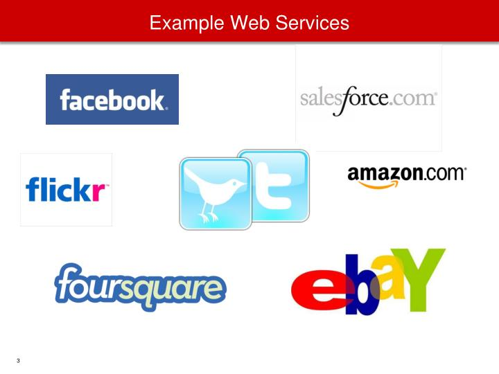 Example Web Services