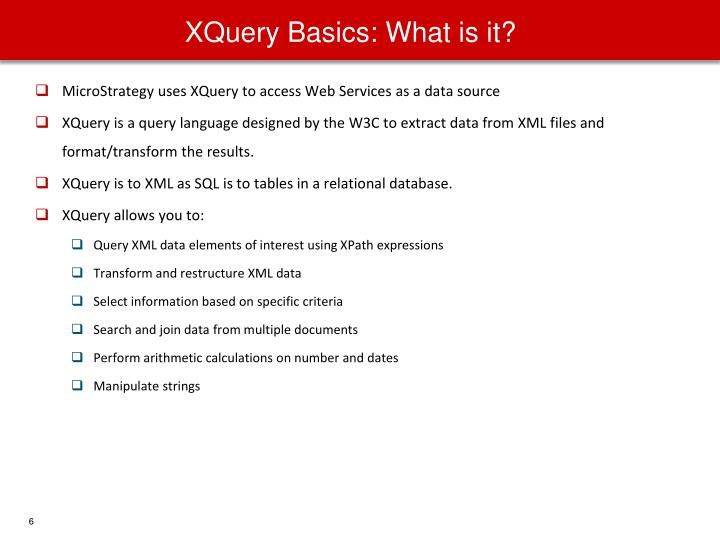 XQuery Basics: What is it?