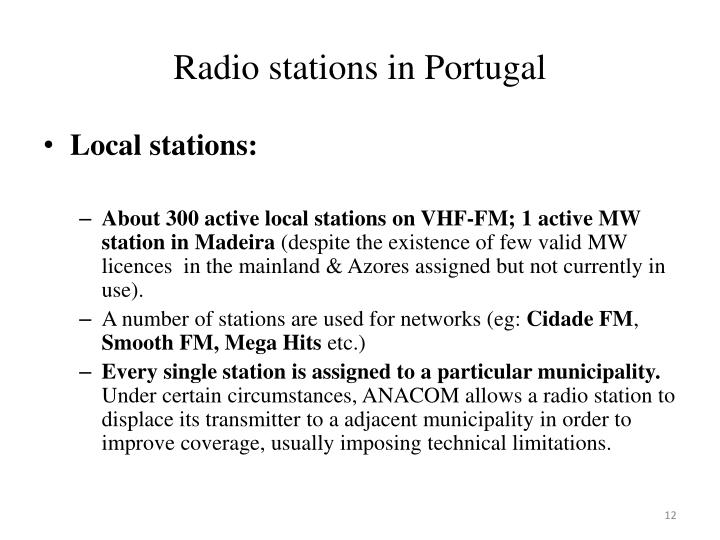 Radio stations in