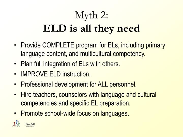 Myth 2: