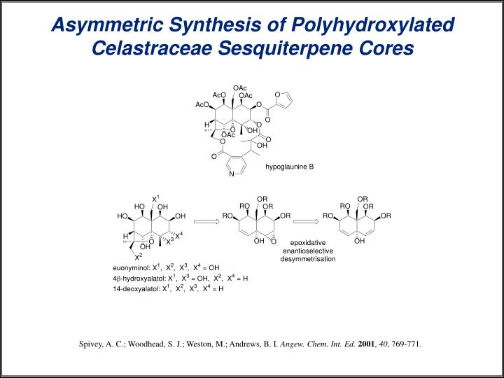 Asymmetric Synthesis of Polyhydroxylated Celastraceae Sesquiterpene Cores