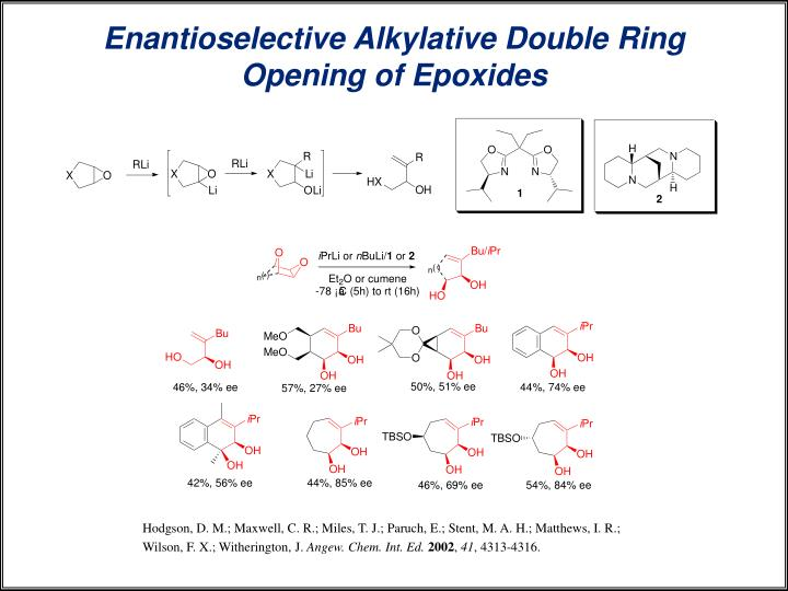 Enantioselective Alkylative Double Ring Opening of Epoxides