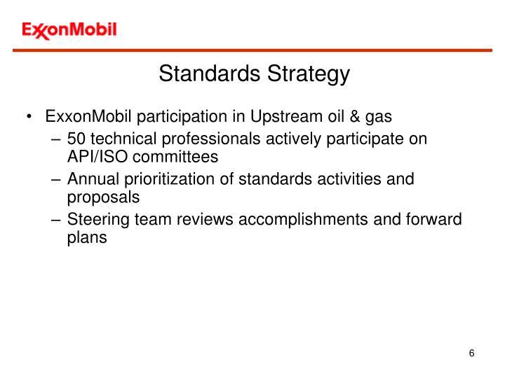 Standards Strategy