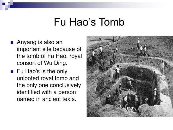 Fu Hao's Tomb