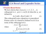 12 6 bessel and legendre series