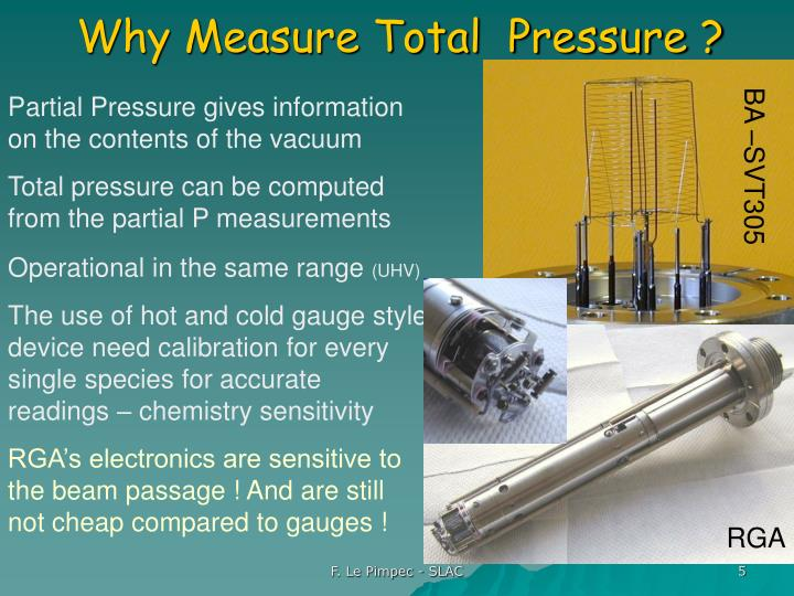 Why Measure Total  Pressure ?