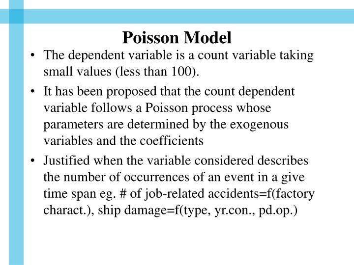 Poisson Model