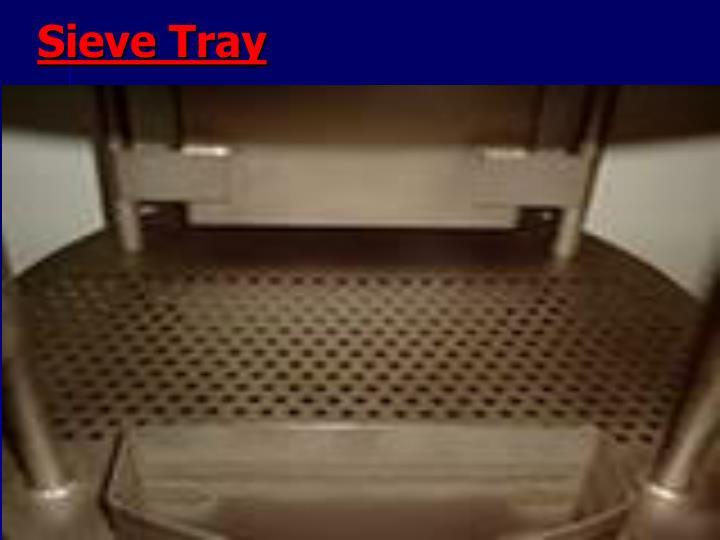 Sieve Tray