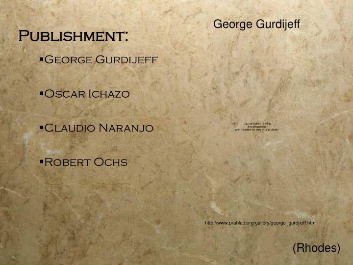 George Gurdijeff