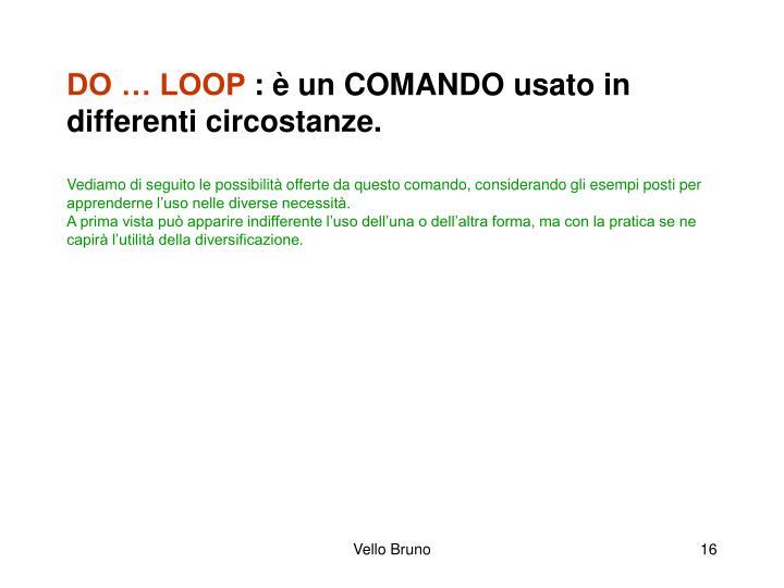 DO … LOOP