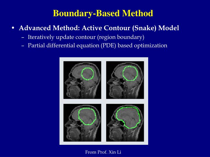 Boundary-Based Method