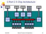 c port c 5 chip architecture