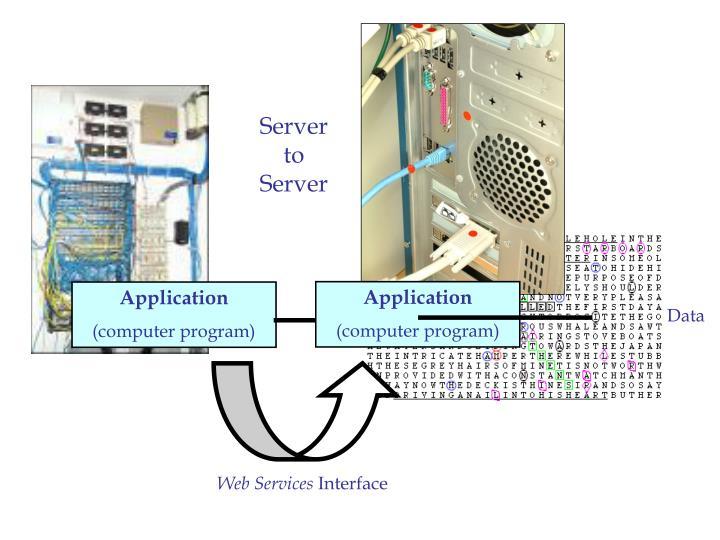 Server to Server