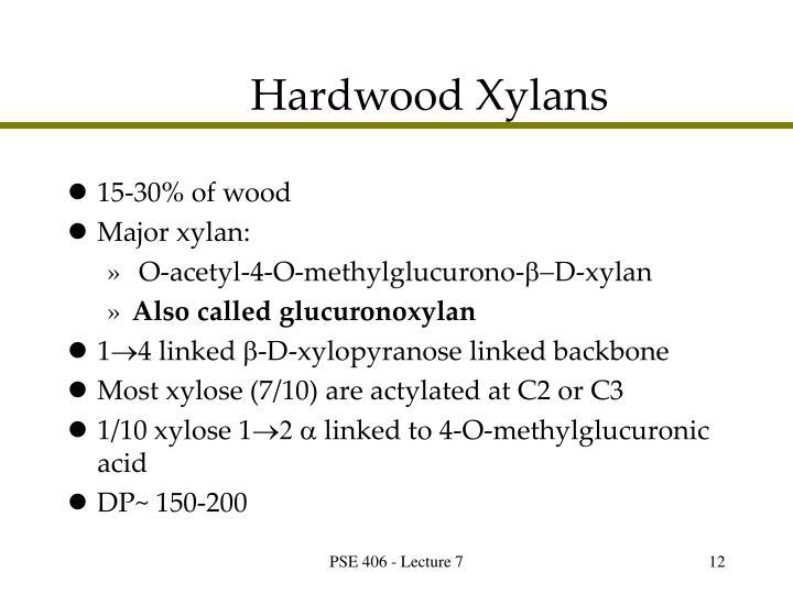 Hardwood Xylans
