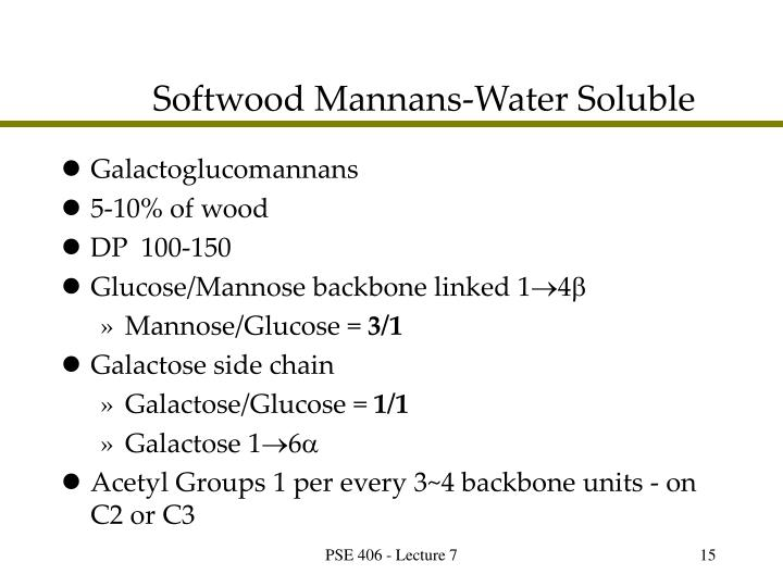 Softwood Mannans-Water Soluble