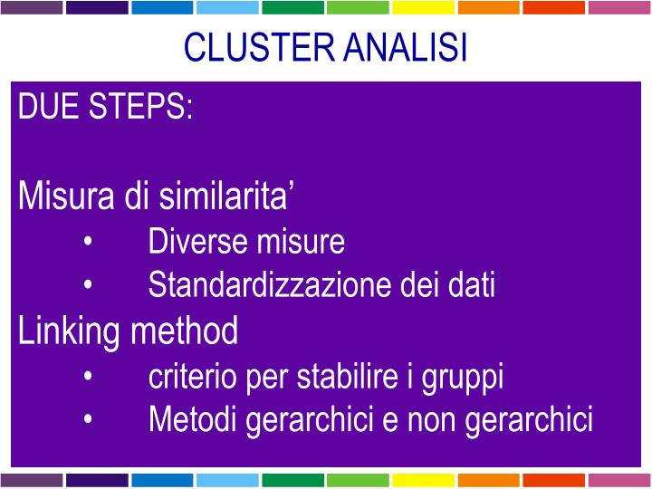 CLUSTER ANALISI