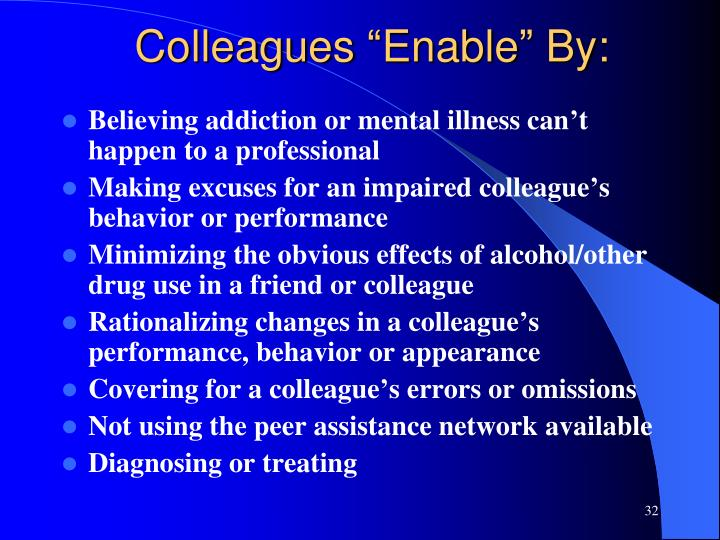"""Colleagues """"Enable"""" By:"""