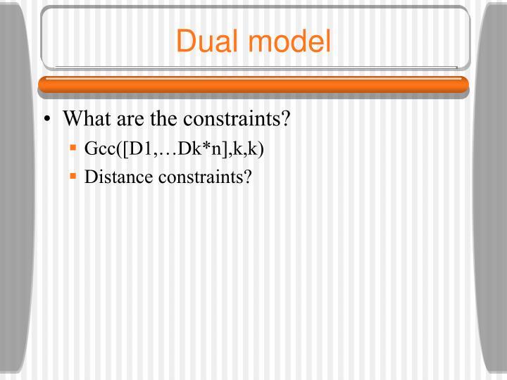 Dual model