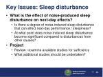 key issues sleep disturbance2