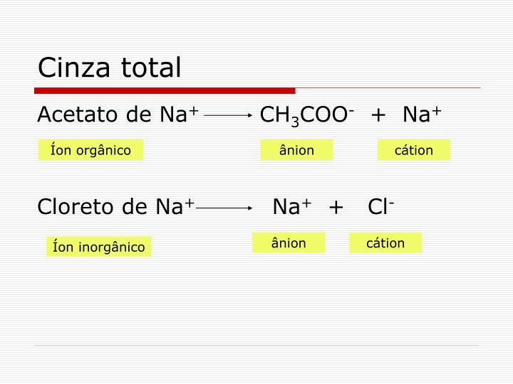 Cinza total