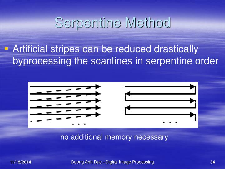 Serpentine Method