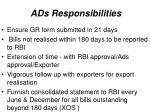 ads responsibilities1
