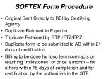 softex form procedure1