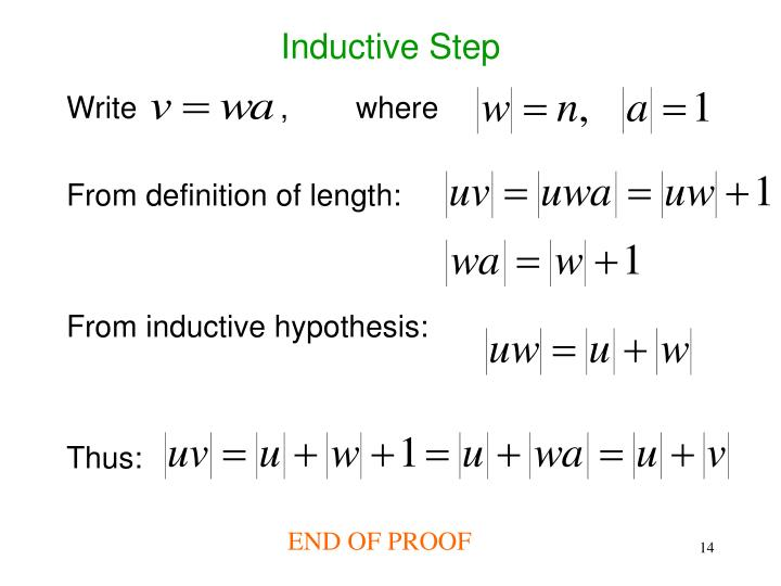 Inductive Step
