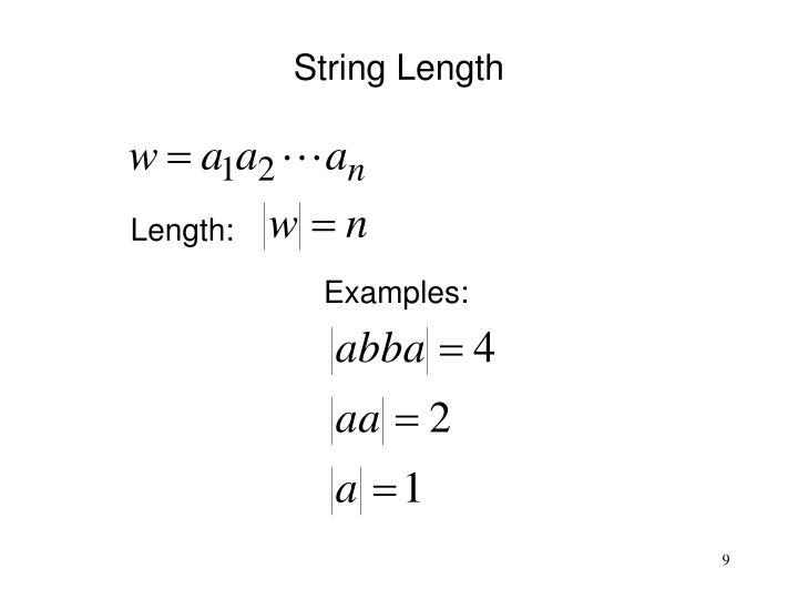 Length: