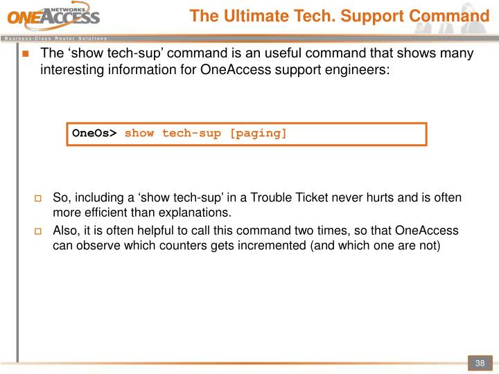 The Ultimate Tech. Support Command