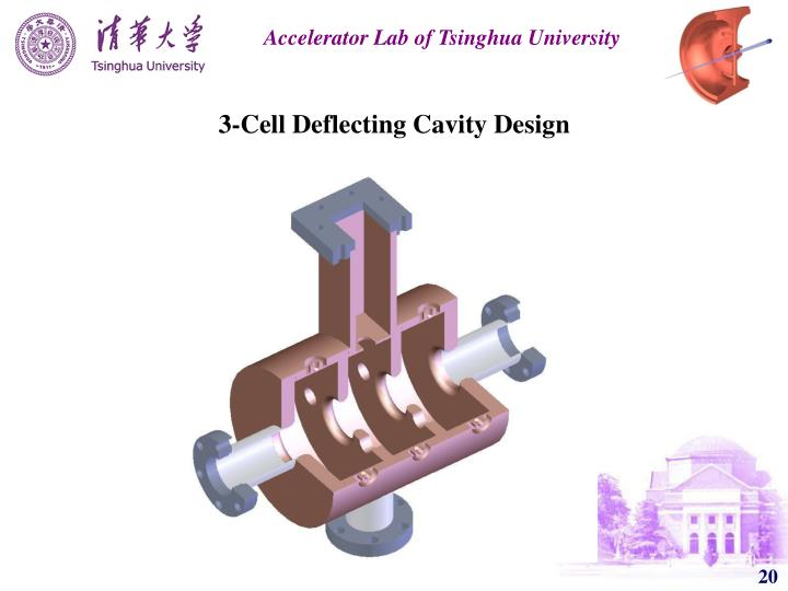 3-Cell Deflecting Cavity Design