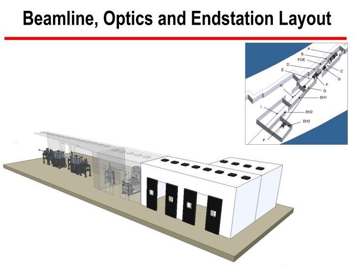 Beamline, Optics and Endstation Layout