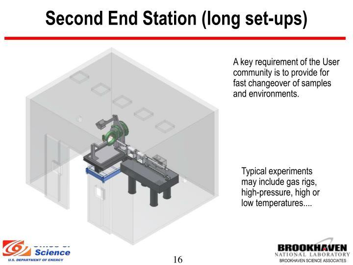 Second End Station (long set-ups)
